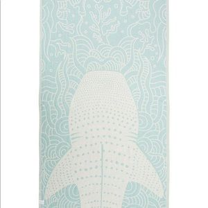 Sand Cloud Whale Shark Mint Towel